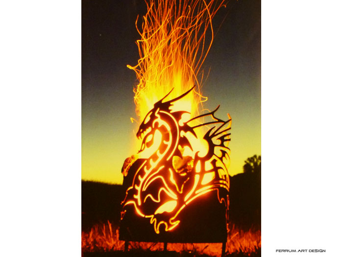 Feuerschale Drachenfeuer
