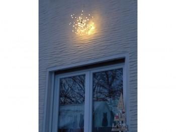 Leuchtstern Sputnik - klein
