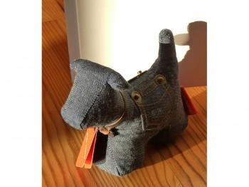 Briefbeschwerer/Türstopper Hund Jeans