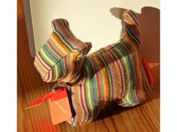 Briefbeschwerer/Türstopper Hund gestreift