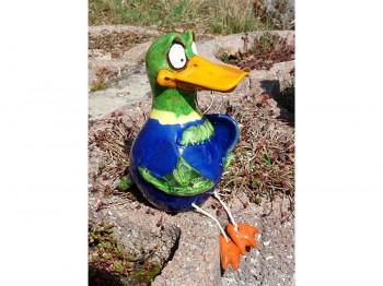 Ente Donald - Keramik
