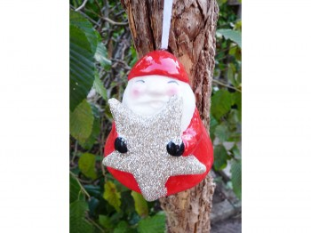 Santa - Christbaumhänger
