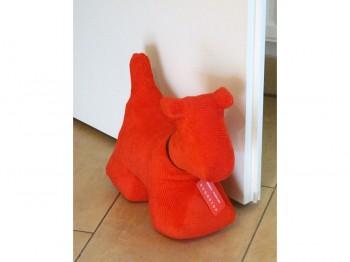 Türstopper Hund Größe XL - Cord rot