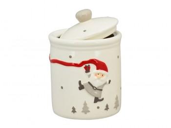 Keksdose Fliegender Weihnachtsmann