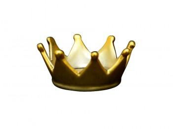 goldene Krone aus Keramik - klein