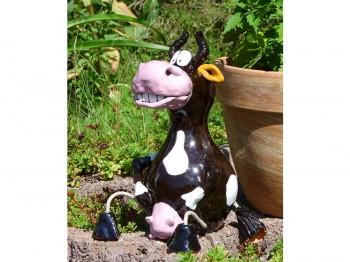 Gartenstecker - Kuh Elsa