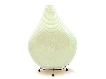 Tischlampe - Stehlampe - Mosaiklampe weiß