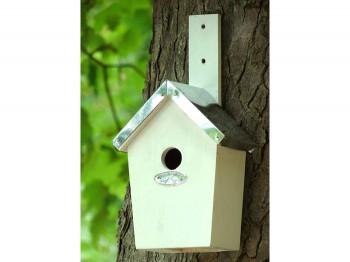 Modernes und exclusives vogelhaus aus holz - Modernes vogelhaus ...