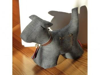 Türstopper Hund Größe M - Jeans