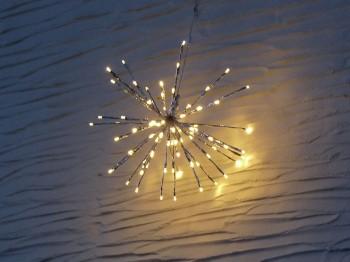 Leuchtstern Sputnik - groß