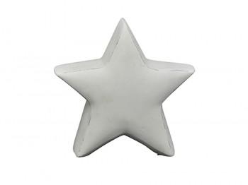 Weihnachtsdeko Stern weiß - klein