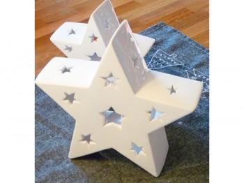 Windlicht Stern - groß