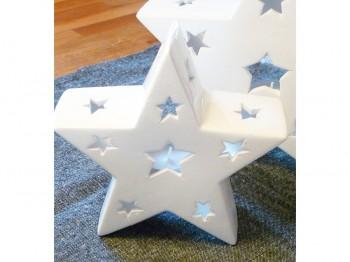 Windlicht Stern - klein