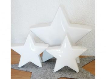 Stern weiß - klein