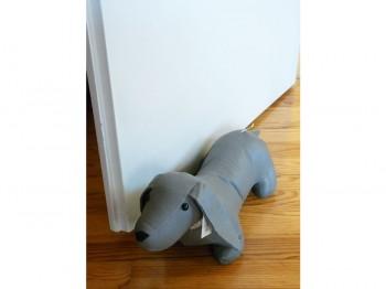 Türstopper Hund XL - grau