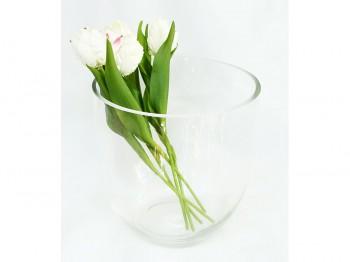 Großer Glaskübel/Vase