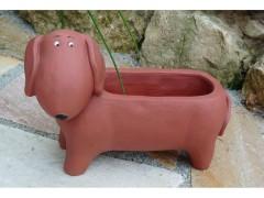 Pflanzschale Hund klein - Dackel