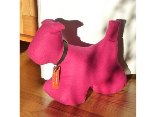 Türstopper Hund Größe XL - pink