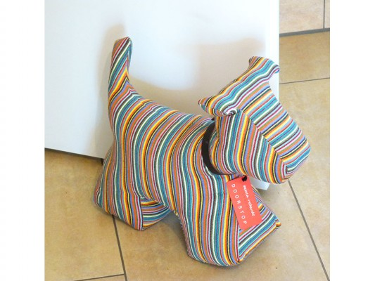 Türstopper Hund Größe XL - gestreift