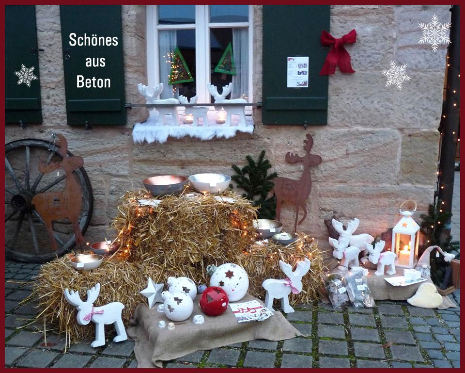 Sch nes aus beton collection betonette - Beton weihnachtsdeko ...