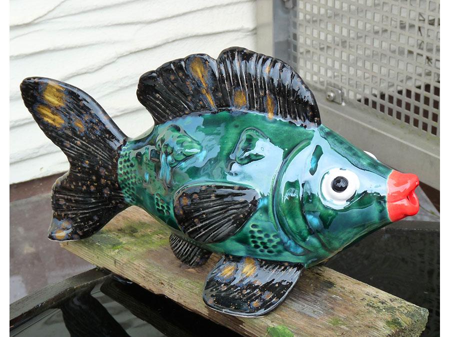 Wasserspeier fisch for Fische miniteich