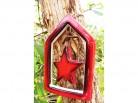 weihnachtliche Fensterdekoration - Stern