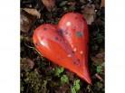 Herz aus Keramik - klein