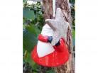 Hänger Santa mit Stern
