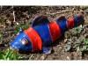Koi rot/blau aus Keramik