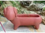 Pflanzschale Hund groß - Dackel