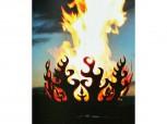 Feuerschale - Feuerkorb *Flammensäule*