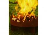 Feuerschale - Feuerkorb *Ornament Welle*