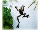 Frosch aus Metall - groß