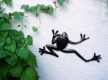 Frosch aus Metall - klein
