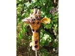 Gartenstecker Giraffe - Keramik
