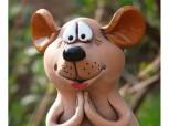 Gartenstecker - Frieda die Maus
