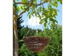 Blumenampel - 30 cm natur