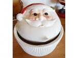Gebäckdose Weihnachtsmann - Santa