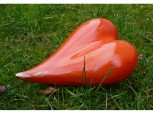 Herz aus Keramik - groß