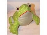 Lustiger Frosch - Türstopper aus Stoff
