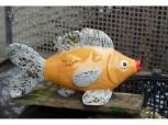 Wasserspeier Fisch -  gelb