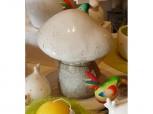 Großer Pilz aus Keramik